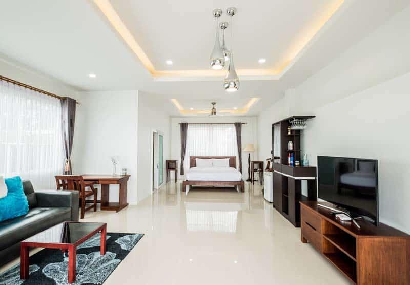 ห้องพัก รีสอร์ทปราณบุรี