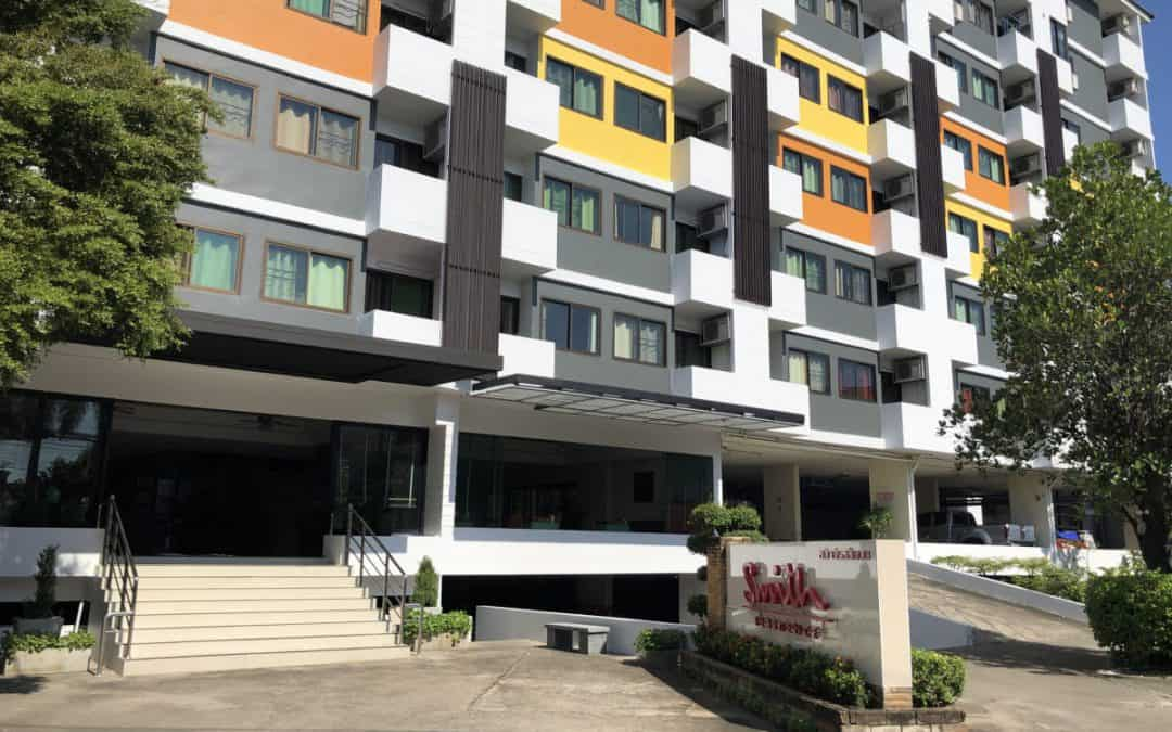 Chiang Mai Apartment high security serviced for short and long stay